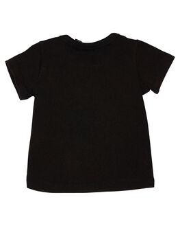 BLACK WASH KIDS BABY ROCK YOUR BABY CLOTHING - BBT1814-GBLKW