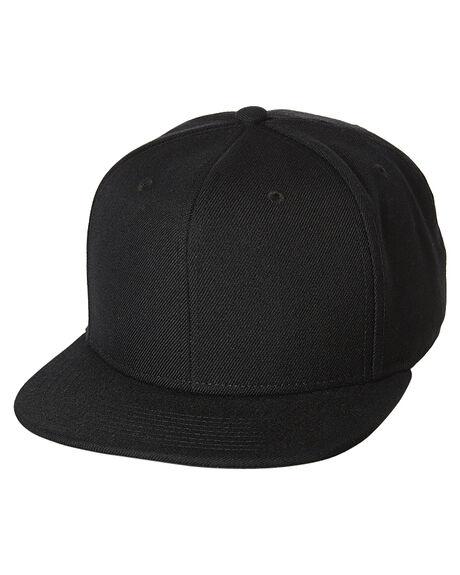 BLACK MENS ACCESSORIES UB HEADWEAR HEADWEAR - NA070BLK