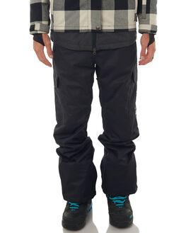 BLACK SNOW OUTERWEAR DC SHOES PANTS - EDYTP03028KVJ0