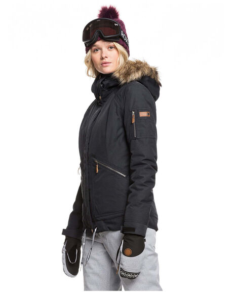TRUE BLACK BOARDSPORTS SNOW ROXY WOMENS - ERJTJ03229-KVJ0