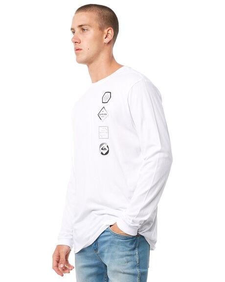 WHITE MENS CLOTHING QUIKSILVER TEES - EQYZT04874WBB0