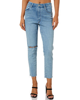 CHOIR DESTRUCT WOMENS CLOTHING WRANGLER JEANS - W-951639-NZ4