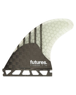 WHITE BOARDSPORTS SURF FUTURE FINS FINS - F65-021402WHITE