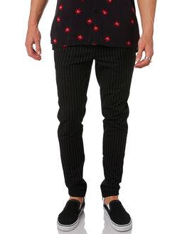 BLACK WHITE MENS CLOTHING ZANEROBE PANTS - 735-MAKBKWH