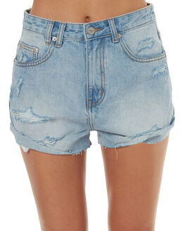 BLUE LOVE WOMENS CLOTHING INSIGHT SHORTS - 1000067691BLUULO