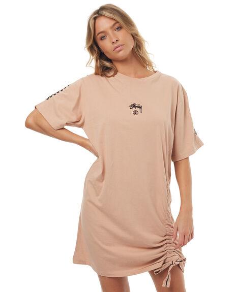 BLUSH WOMENS CLOTHING STUSSY DRESSES - ST172520BLUSH