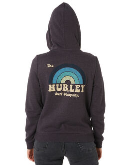 OIL GREY WOMENS CLOTHING HURLEY JUMPERS - AR1144013