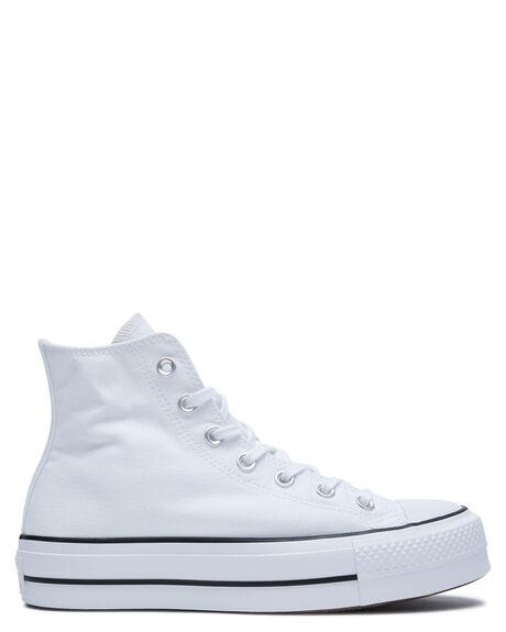 WHITE WOMENS FOOTWEAR CONVERSE SNEAKERS - 560846WHT