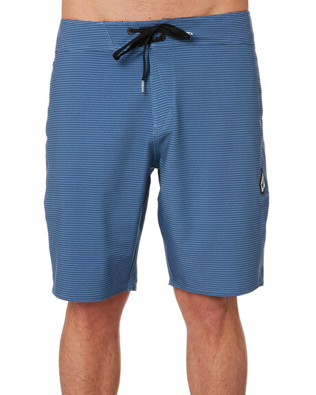 GREY BLUE MENS CLOTHING VOLCOM BOARDSHORTS - A0801900GBU