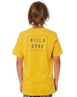 LIGHT MUSTARD KIDS BOYS BILLABONG TOPS - 8582035LM3