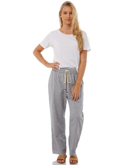 CHARCOAL WOMENS CLOTHING SAINT HELENA PANTS - SH2A121JCCHAR