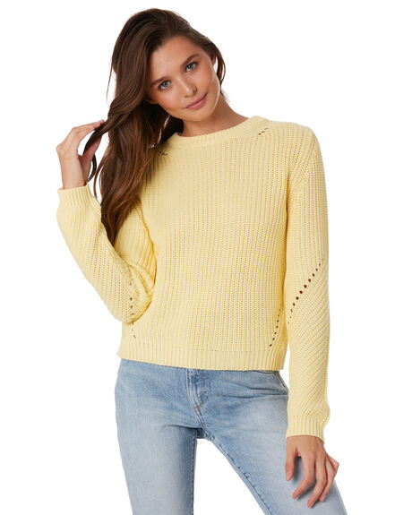 HONEY WOMENS CLOTHING NUDE LUCY KNITS + CARDIGANS - NU23143HON