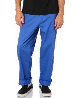 ULTRAMARINE MENS CLOTHING OBEY PANTS - 142020153UMR
