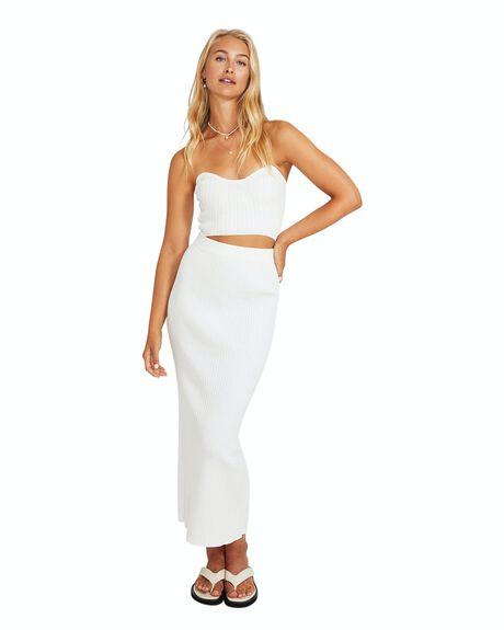 WHITE WOMENS CLOTHING SUBTITLED SKIRTS - 35766800022