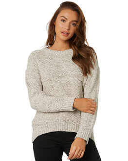 OPAL GREY WOMENS CLOTHING RUSTY KNITS + CARDIGANS - CKL0373OPG