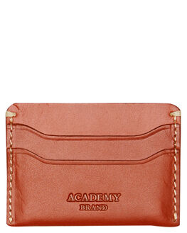 TAN MENS ACCESSORIES ACADEMY BRAND WALLETS - 20S002TAN