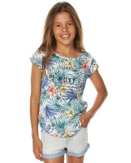 BELHARRA FLOWER KIDS GIRLS ROXY TEES - ERGZT03233WBT6