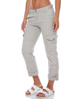 MOSS GREY WOMENS CLOTHING RUSTY PANTS - PAL0735MGS