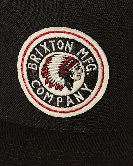BLACK MENS ACCESSORIES BRIXTON HEADWEAR - 314-00267-0100BLK