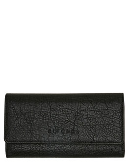 BLACK WOMENS ACCESSORIES RIP CURL PURSES + WALLETS - LWUIP10090