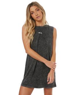 BLACK ACID WOMENS CLOTHING RVCA DRESSES - R272757252