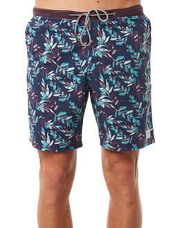 NAVY MENS CLOTHING KATIN BOARDSHORTS - TRBRA01NVY