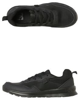BLACK MENS FOOTWEAR DC SHOES SNEAKERS - ADYS700140BB2