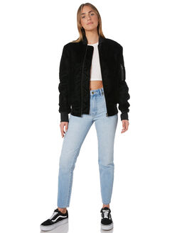 BLACK WOMENS CLOTHING THE PEOPLE VS JACKETS - AW19W058BLK
