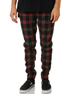 NAVY RED MENS CLOTHING ZANEROBE PANTS - 701-VERNVYRD