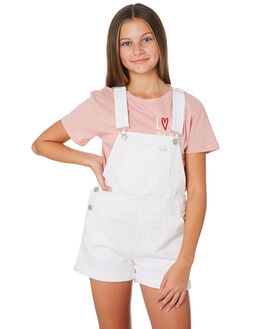 WHITE OUT KIDS GIRLS RIDERS BY LEE DRESSES + PLAYSUITS - R-80152T-LL9WHT