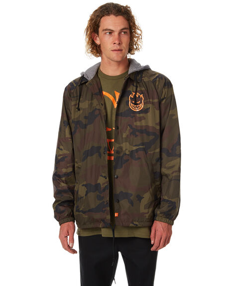 CAMO MENS CLOTHING SPITFIRE JACKETS - CJKTCAMO