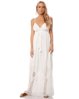 WHITE LACE OUTLET WOMENS WILDE WILLOW DRESSES - K366-WWHITE