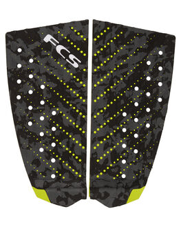CHARCOAL CAMO BOARDSPORTS SURF FCS TAILPADS - 27724CHAR