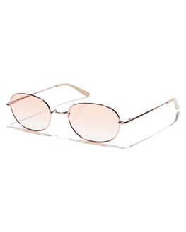 BLUSH WOMENS ACCESSORIES SUNDAY SOMEWHERE SUNGLASSES - SUN176-BLU-SUNBLSH