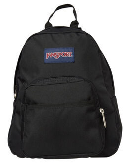 BLACK WOMENS ACCESSORIES JANSPORT BAGS + BACKPACKS - JSTDH6-JS008BLK