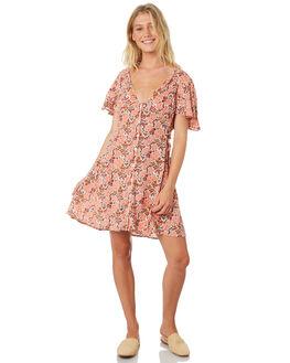 BLUSH WOMENS CLOTHING BAND OF GYPSIES DRESSES - WR335761-2769LPINK