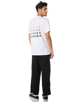 WHITE MENS CLOTHING HUFFER TEES - MTE94S40406WHT