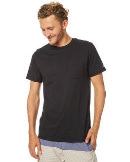 BLACK MENS CLOTHING VOLCOM TEES - A5011611BLK