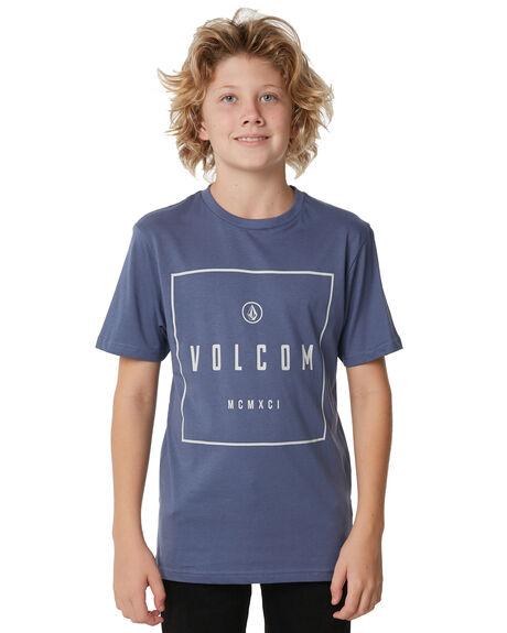 DEEP BLUE KIDS BOYS VOLCOM TOPS - C5011871DPB