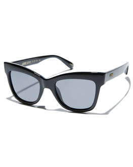 GLOSS BLACK WOMENS ACCESSORIES LOCAL SUPPLY SUNGLASSES - RIVIERABKG25