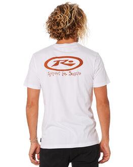 WHITE MENS CLOTHING RUSTY TEES - TTM2338WHT