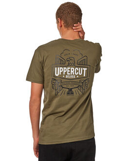 ARMY MENS CLOTHING UPPERCUT TEES - UPDTS0539ARMY