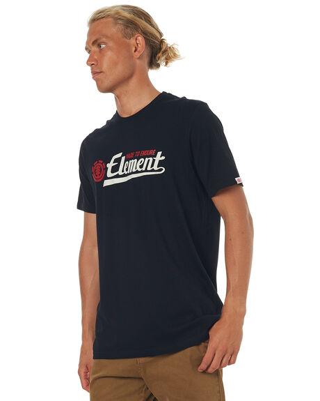 FLINT BLACK MENS CLOTHING ELEMENT TEES - 173015FBLK