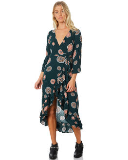 EMERALD WOMENS CLOTHING TIGERLILY DRESSES - T383446EMER