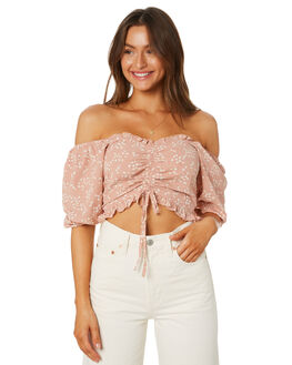 FLORAL WOMENS CLOTHING LULU AND ROSE FASHION TOPS - LU23921FLORAL