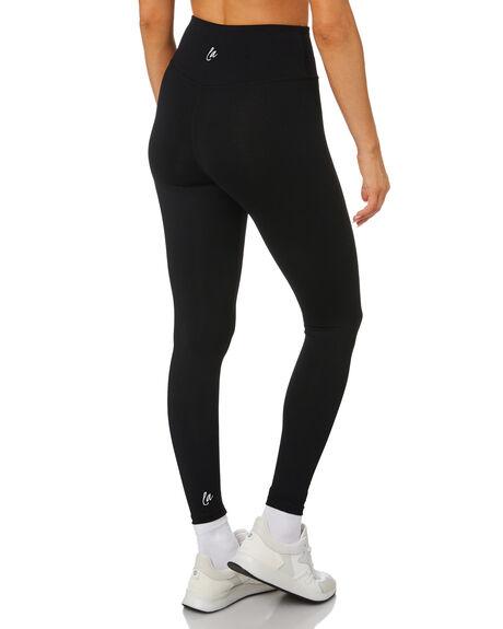 BLACK WOMENS CLOTHING LAHANA ACTIVEWEAR - LA-PEP-L-BLK