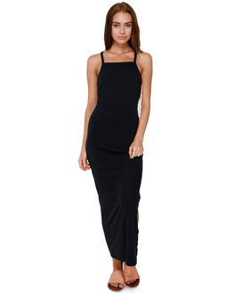 TRUE BLACK WOMENS CLOTHING ROXY DRESSES - ERJKD03224KVJ0