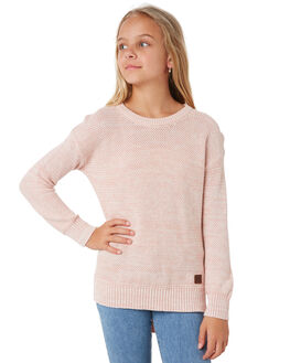DUSK PINK KIDS GIRLS RIP CURL JUMPERS + JACKETS - JSWAK19712