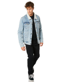 BLUE MENS CLOTHING RIP CURL JACKETS - CJKDZ10070