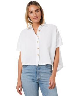 WHITE WOMENS CLOTHING SWELL FASHION TOPS - S8201021WHI